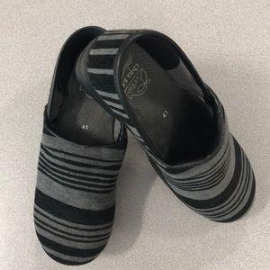 Dansko Striped Clogs size 41